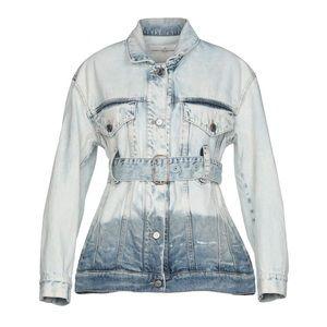 ⭕️ GOLDEN GOOSE Denim Jacket Jean Outerwear Blue